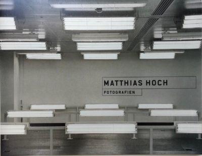 Matthias Hoch. Fotografien