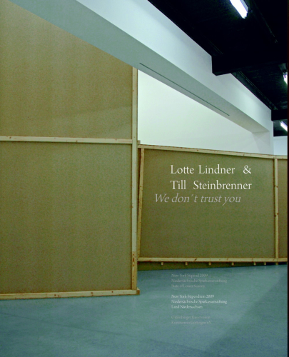 Lotte Lindner & Till Steinbrenner – We don't trust you
