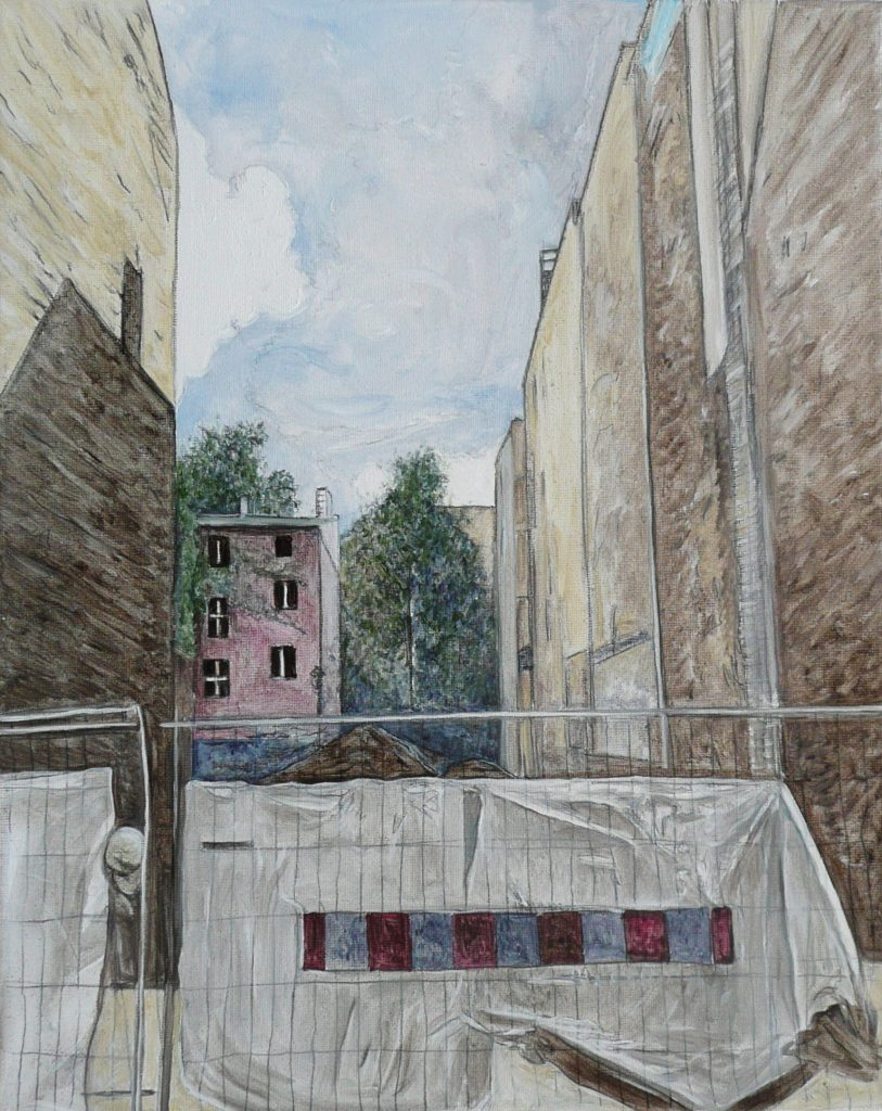 T. Groetz, Cadenza Visuale II 30 x 24 cm, 2015